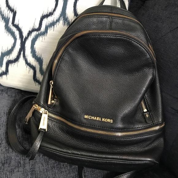 Authentic Michael Kors Leather Backpack. M 5bf810d34ab633c46b2328d2 40a83767d4048